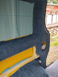 Vivaro pillar carpeting
