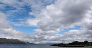 Mull Landscape and clouds