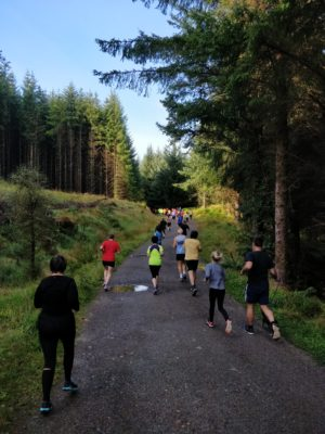 Fort William Parkrun Start