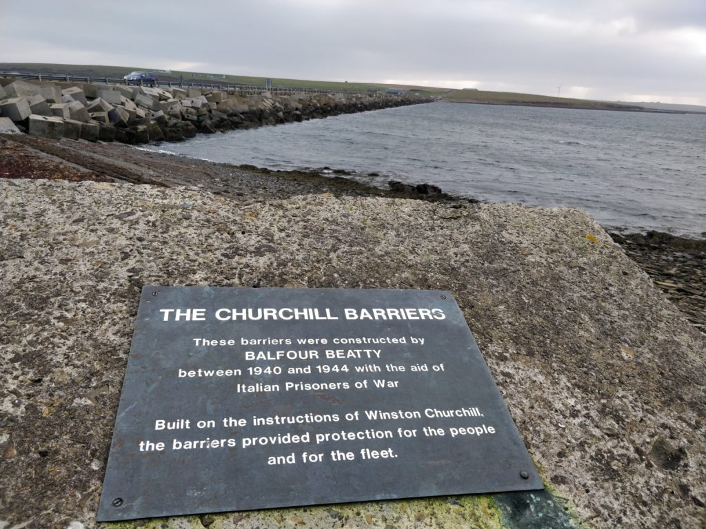 Churchill Barrier No. 1