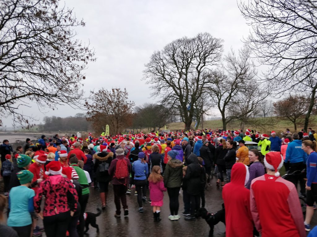Edinburgh Christmas Day parkrun